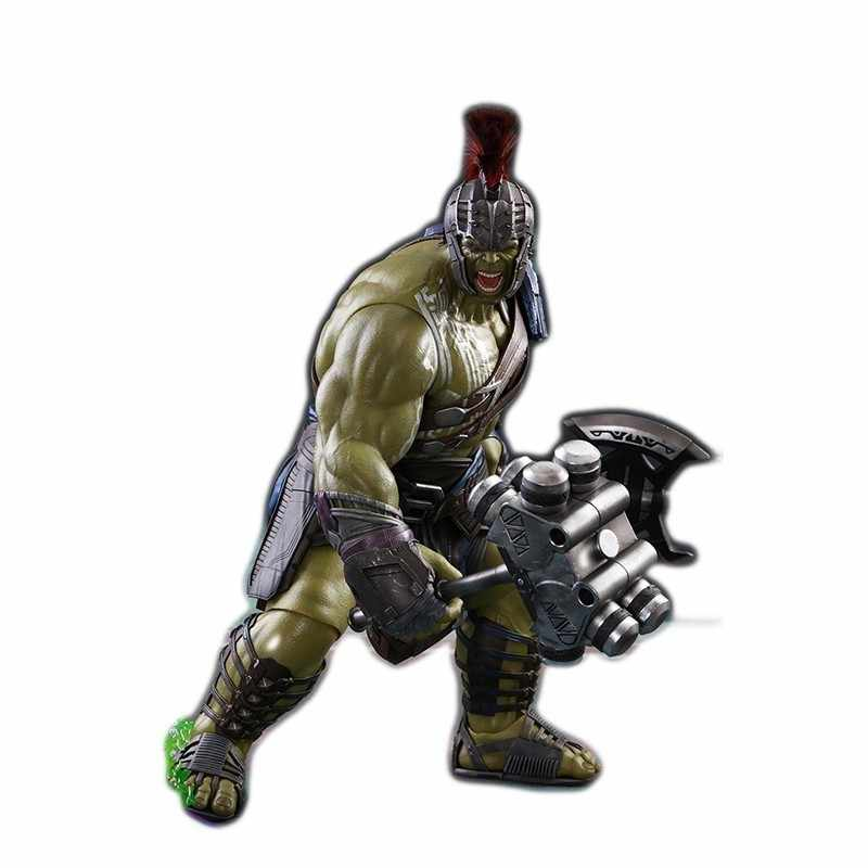 Marvel Legends Hulk 1/6 PVC Raytheon 3 The avengers action figures Model Gladiator Movie Periphery Joint Movable Figma for child