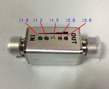 1 Mhz   30 Mhz 40 W VSWR LED ตัวบ่งชี้ Connector MINI แสดง SWR สั้นคลื่นคลื่นยืนตารางเมตร