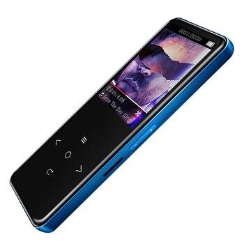 Benjie A20 ekran prasowy odtwarzacz muzyczny Mp3 8Gb smukłe odtwarzacze muzyki bezstratnej Hi-Fi z radiem Fm