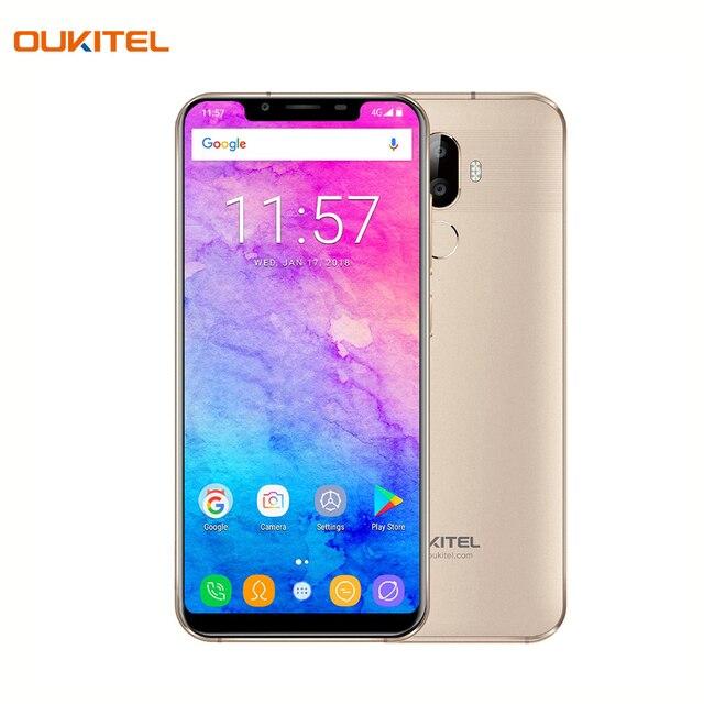 Смартфон OUKITEL U18 Gold отличная камера 16+5Мп, объем оперативной памяти 4Гб, встроенной - 64Гб, емкость аккумулятора 4000А/ч