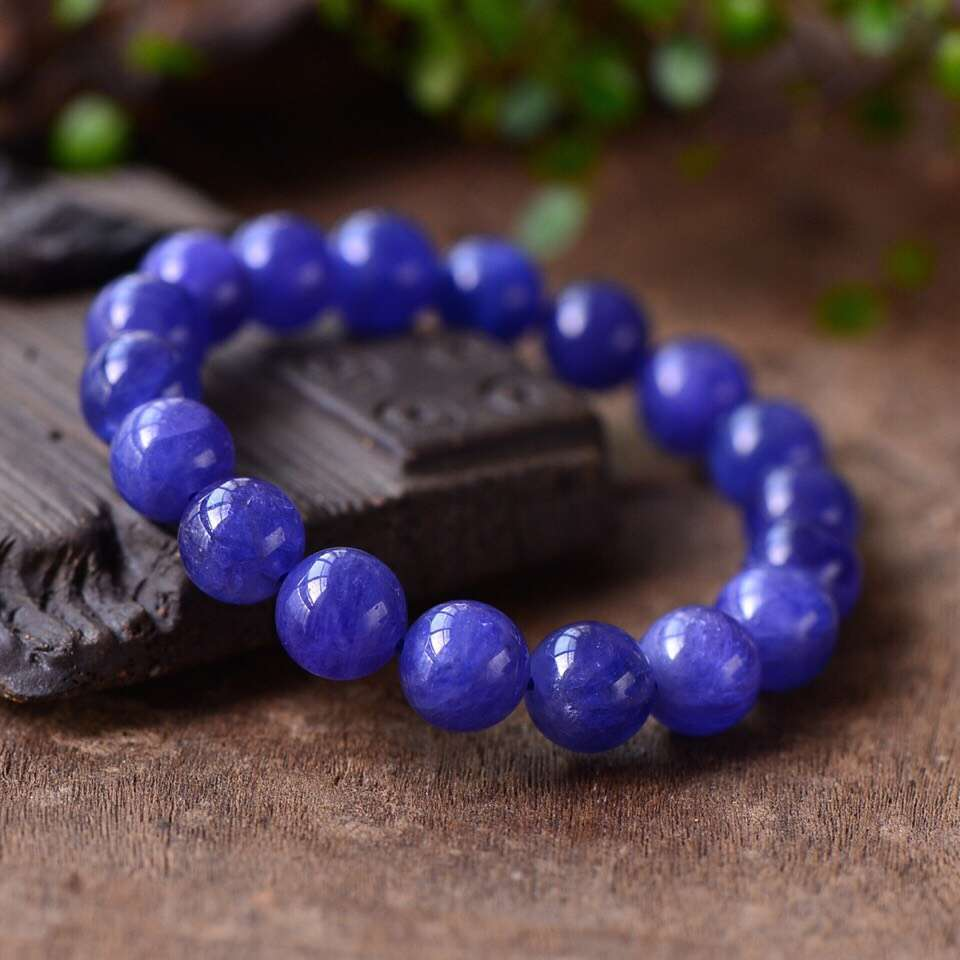 Top Quality Natural Tanzanite Tanzania Blue Zoisite Clear Round Beads Bracelet 10mm Stretch Tanzanite Hot Women Man AaaaaaTop Quality Natural Tanzanite Tanzania Blue Zoisite Clear Round Beads Bracelet 10mm Stretch Tanzanite Hot Women Man Aaaaaa