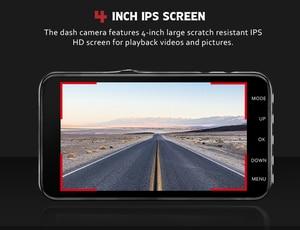 Image 5 - Car Dvr Camera 4.0 Inch Screen Full HD 1080P Dual Lens with Rear View Dashcam Auto Registrar Car Video Recorder DVRs Camcorder