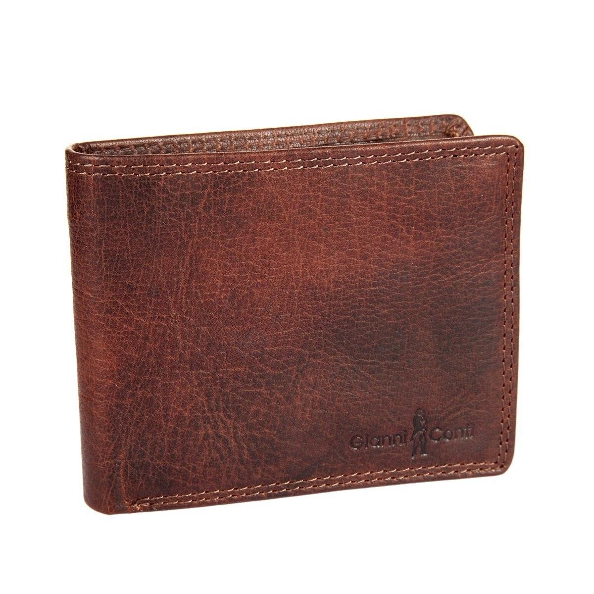 Coin Purse Gianni Conti 1077142 Tan кожаные сумки gianni conti 912150 tan