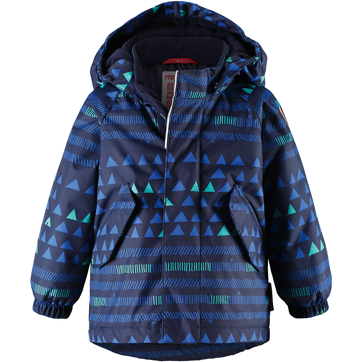 REIMA Jackets 8665426 for boys polyester winter  fur clothes boy brand orangemom winter boys baby clothes 0 24m infant costume for a boy coat jackets soft high quality outerwear