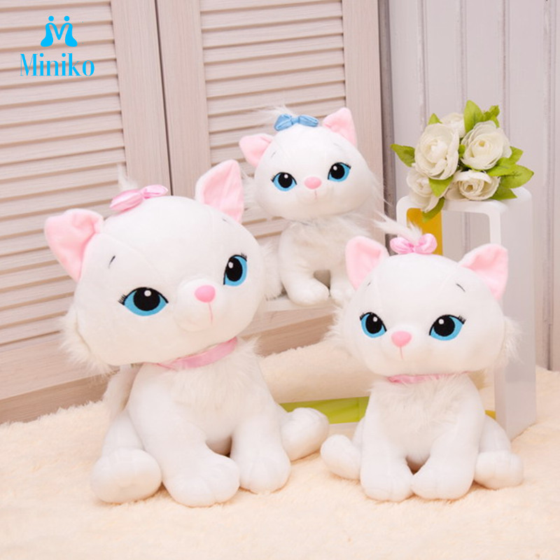1pcs The Aristocats Cat Plush Toys Marie Cat Plush Animals Toys Stuffed Plush Marie Cat Toys Children Gifts Birthday Gifts