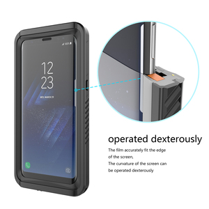 Image 4 - Casewin Voor Samsung Galaxy S8 Case IP68 Waterdicht 360 Graden Bescherming Onderwater Cover Voor Samsung Galaxy S8 Case Transparant