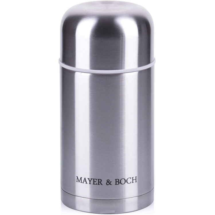 Thermos MAYER & BOCH, 1 L, with case 1 piece free shipping aluminum enclosure project case 29 h x164 w x155 l mm for electronics case housing junction box