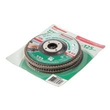 125 Х 22 Р 60 тип 1 КЛТ Hammer Flex 213-017 SKIN Круг лепестковый торцевой  упаковка 2 шт.