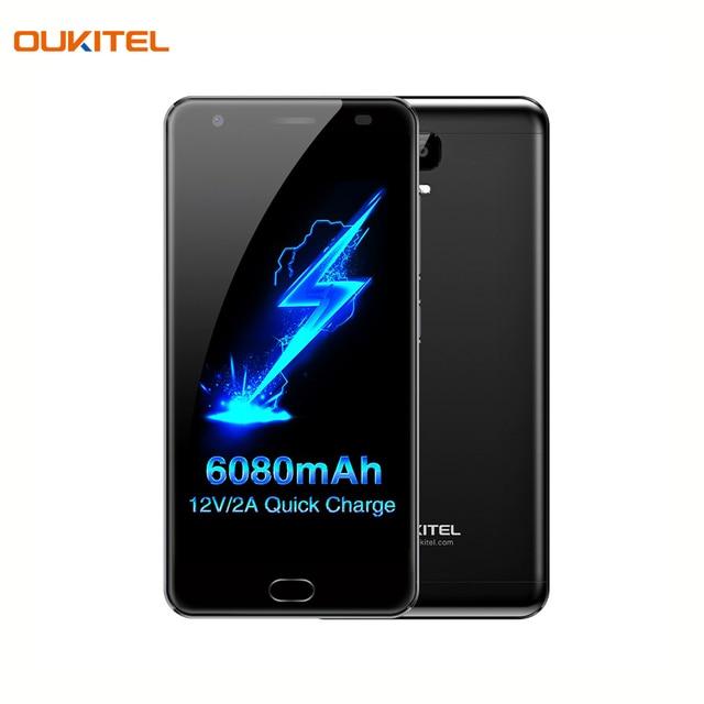 Смартфон OUKITEL K6000 Plus Black объем оперативной памяти 6Гб и встроенной памяти - 64Гб, емкость аккумулятора 6080А/ч