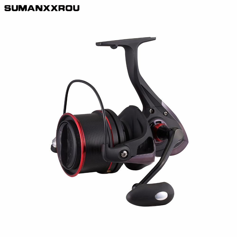 Full Metal 12+1BB Sea Fishing Reel Good Fishing Spinning Reels for Saltwater Fishing TSP 8000 9000 10000 Series 4.1:1 Gear Ratio image