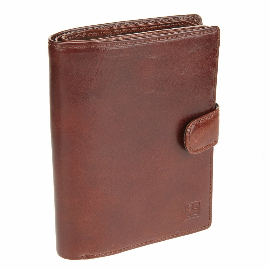 Coin Purse Sergio Belotti compartments for passport 2242 Milano Brown with coin bag zipper new 2018 women wallets brand purses female thin wallet passport holder id card case