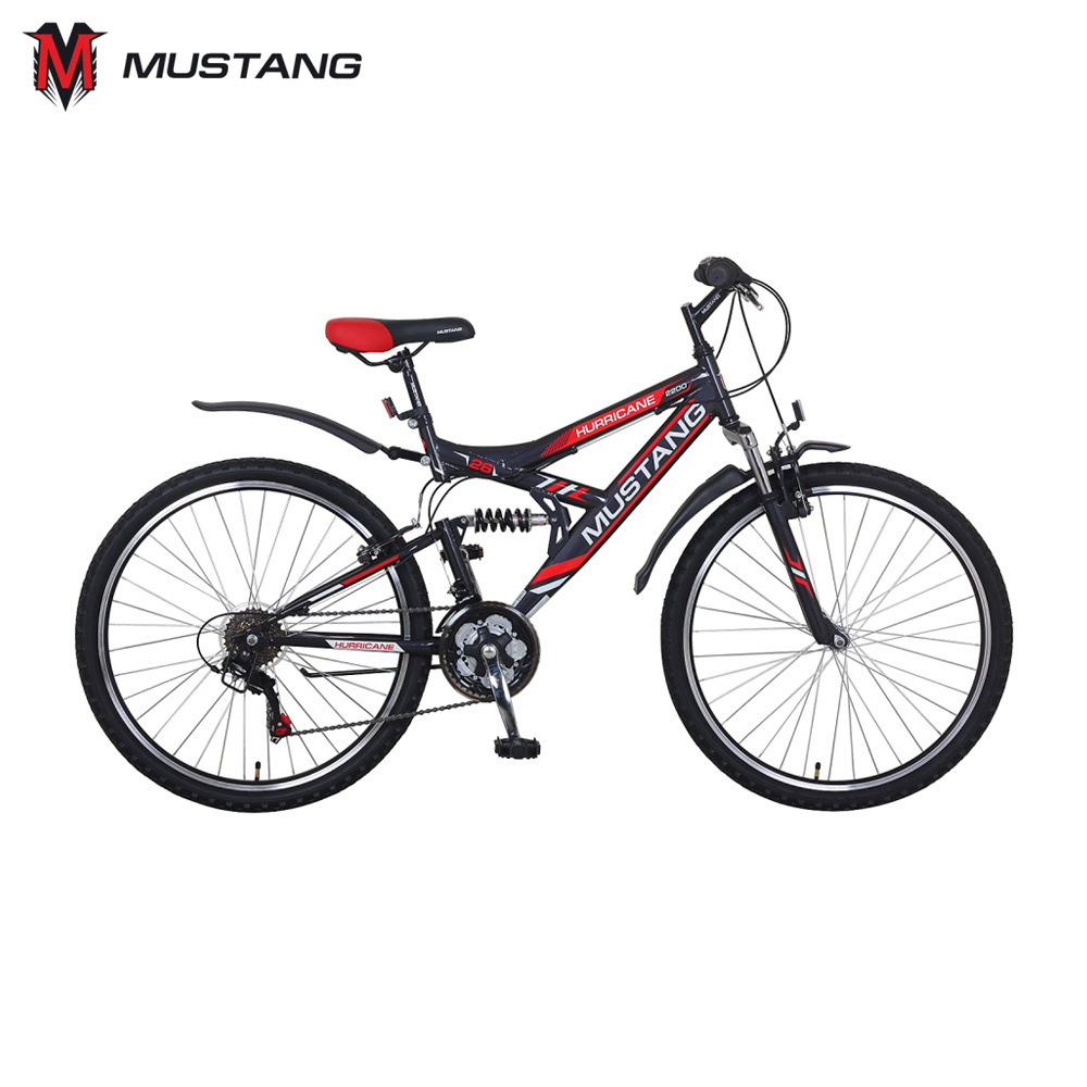 Bicycle Mustang 265257 bicycles teenager bike children for boys girls boy girl cnc alloy mtb bike bicycle chain bash guard mount chainring guide 30 40t p c d 104mm bike crankset protection