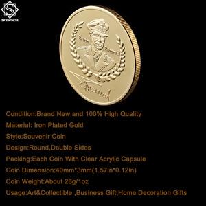 Вторая мировая война Deutsche Erwin Rommel Africa Corps Desert Fox Africa Юбилейная Золотая монета