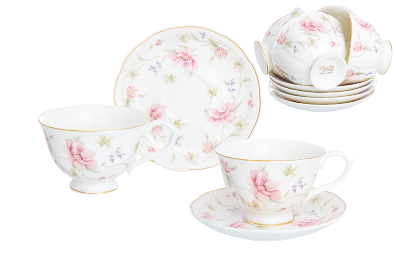 Available from 10.11Tea set Diana 12 items Elan Gallery 740254