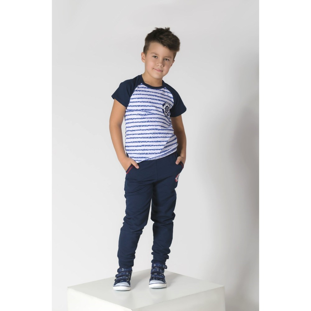 T Shirt Sea 2 stripe 3 6g, 100% CHL multi stripe t shirt