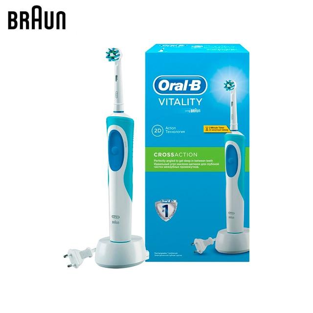 Электрическая зубная щетка Braun Oral-B Vitality Cross Action D12.513