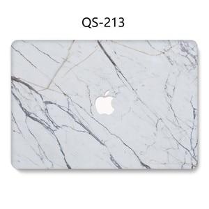 Image 2 - Para o Caso de Notebook Luva Do Portátil Novo Para MacBook Air Pro Retina 11 12 13 Quente 13.3 15.4 Polegada Com Tela protetor de Teclado Enseada