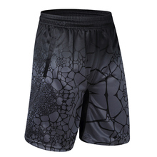 2019 Men Casual Shorts Polyester Digital Print Man Bermuda With Zipper Pocket Knee Length Trousers Male