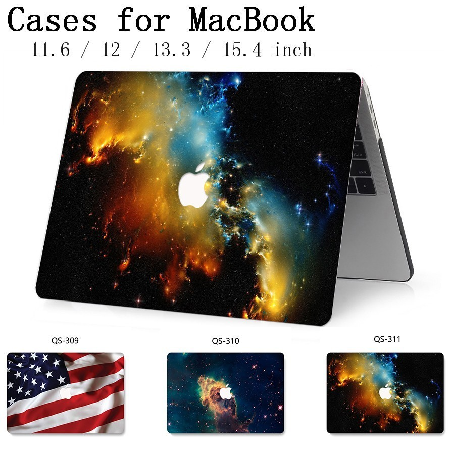 For Macbook Air Pro Retina 11 12 13 15.4 Laptop Bag Case For Macbook 13.3 15.6 Inch With Screen Protector Keyboard Cove Hot Gift