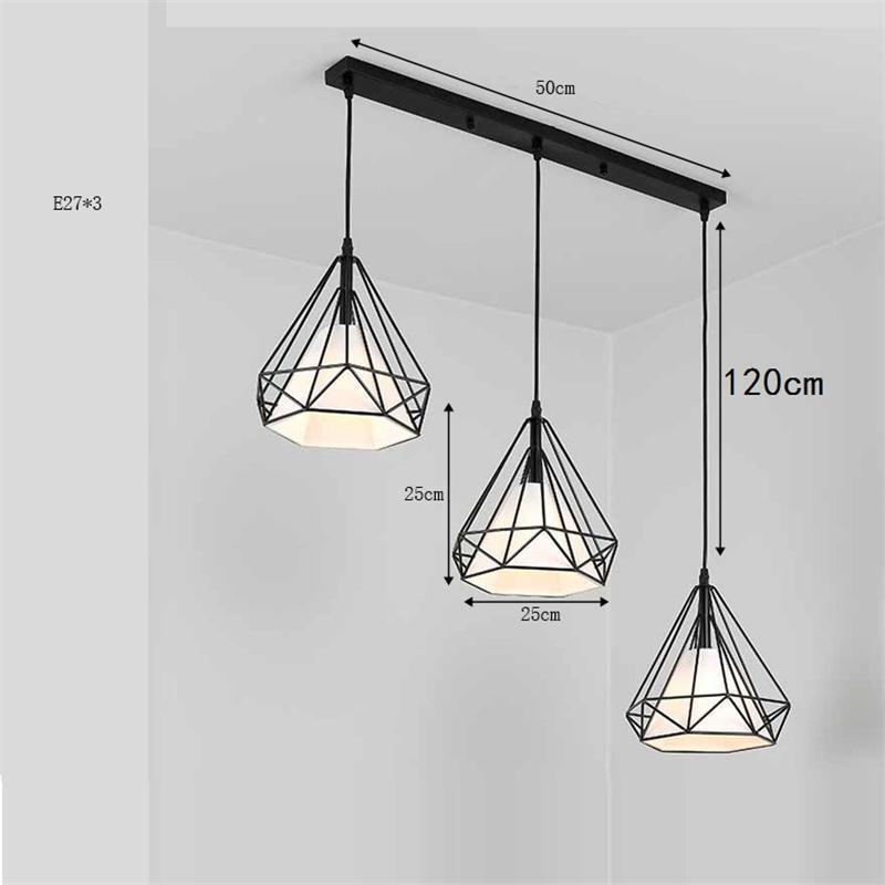 Verlichting Light Lampara Lustre E Pendente Para Sala De Jantar Industriele Hanging Lamp Loft Luminaire Suspendu Hanglamp in Pendant Lights from Lights Lighting