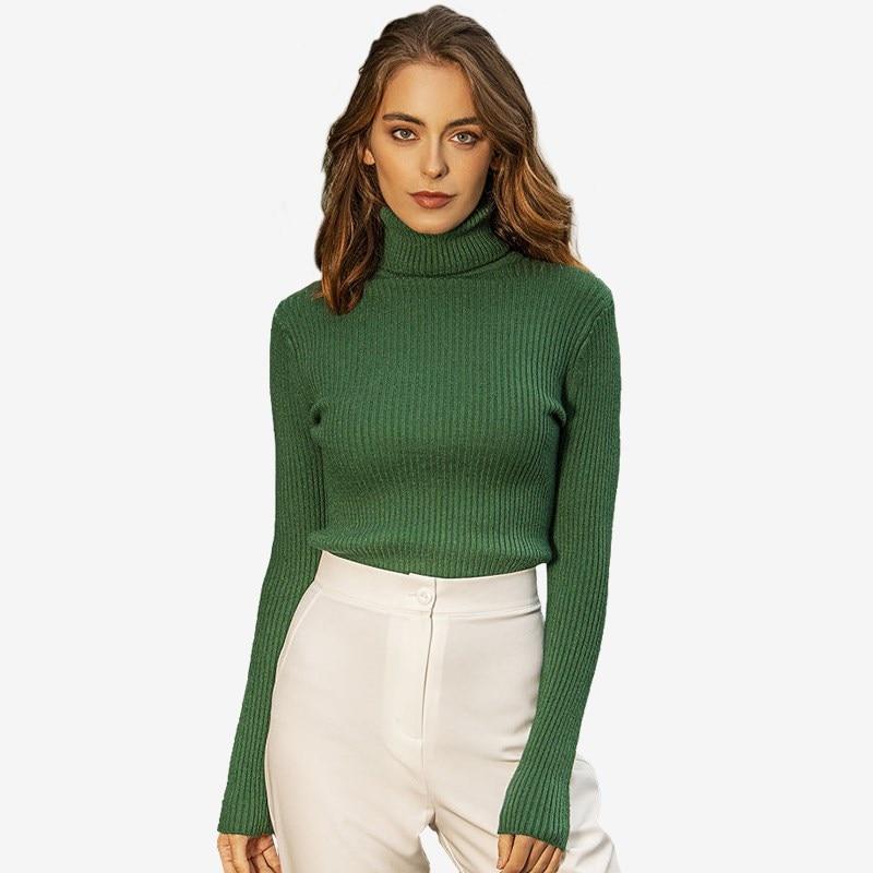 Turtleneck 6441442 ribbed turtleneck sweater
