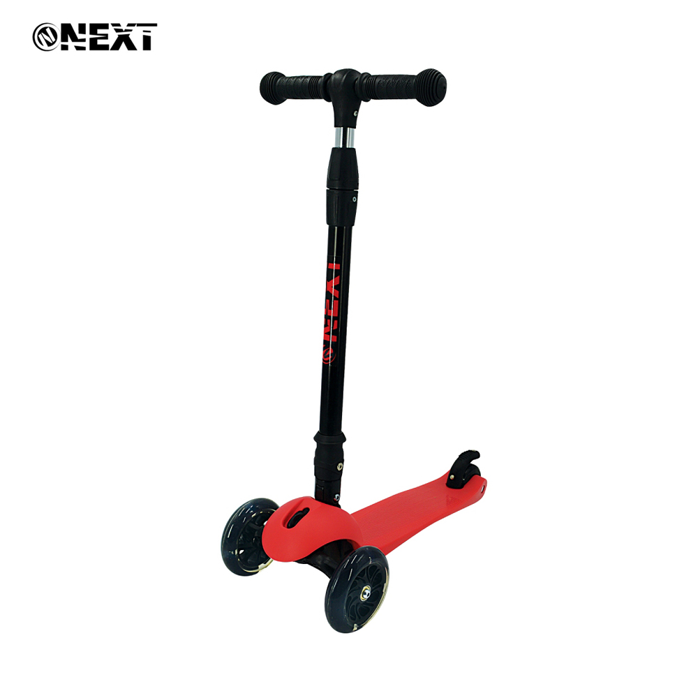 Kick Scooters Foot Scooters Next 264896 children trick scooter for boy girl boys girls Luminous wheels S00193RED цены онлайн