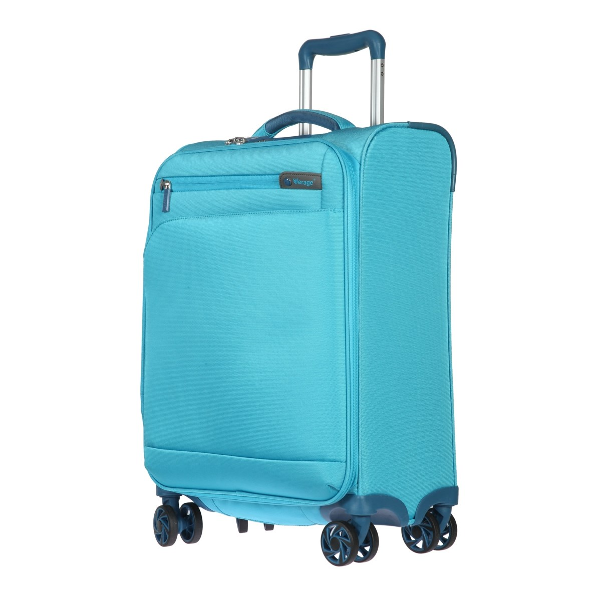 Suitcase-trolley Verage GM17016W20 water blue