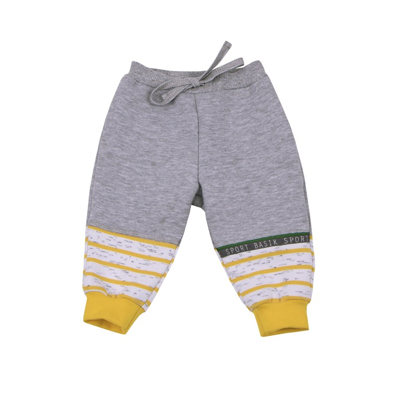 Basik Kids Pants combination kids clothes children clothing basik kids pants with side pockets anthracite