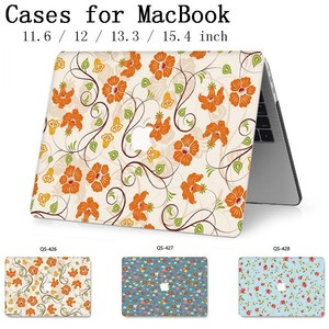 For MacBook Air Pro Retina 11 12 13 15 For Apple New Laptop Case Hot Bag 13.3 15.4 Inch  With Screen Protector Keyboard Cove tas