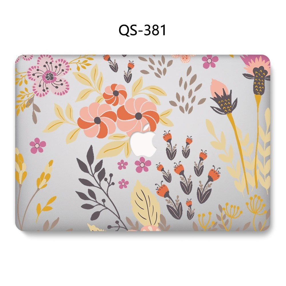 Image 2 - Hot Laptop Case For Apple Macbook 13.3 15.6 Inch For MacBook Air Pro Retina 11 12 13 15.4 With Screen Protector Keyboard Cove-in Laptop Bags & Cases from Computer & Office
