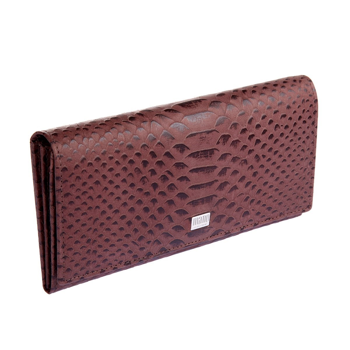 Coin Purse Mano 20150 Croco Brown портмоне mano business 19008 19008 brown