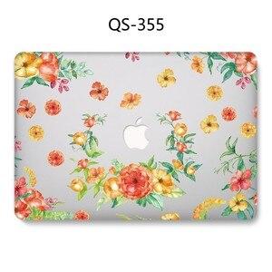 Image 3 - Nouveau Chaud Pour Ordinateur Portable étui pour MacBook 13.3 15.6 Pouces Pour MacBook Air Pro Retina 11 12 13 15.4 Avec Protecteur Décran Clavier Cove Cadeau