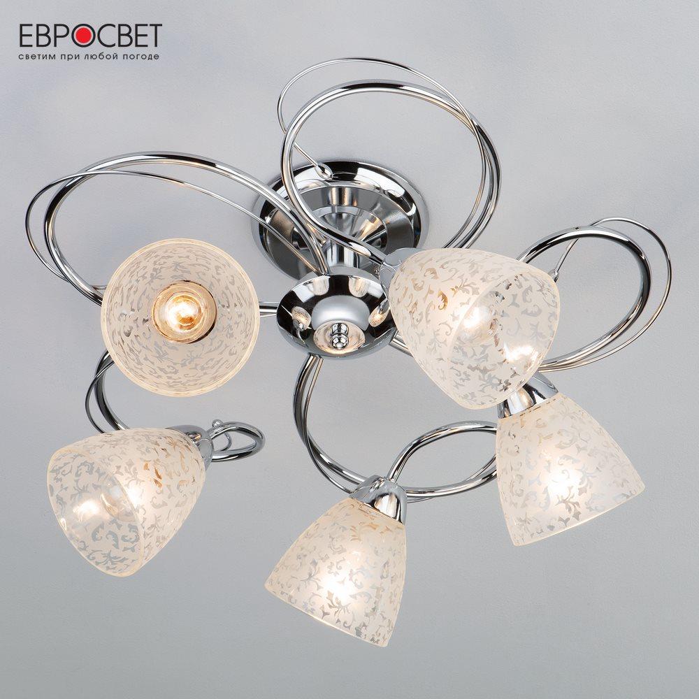 Chandeliers Eurosvet 134540 ceiling chandelier for living room to the bedroom indoor lighting