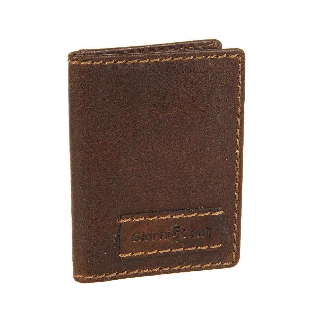 Credit Card Cases Gianni Conti 1227189 dark brown