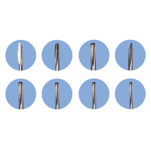 Image 5 - 8Pcs Dental Surgery Extracting Apical Root Elevator Stainless Steel with Plastic Handle Dental Instrument Luxating Lift Elevator