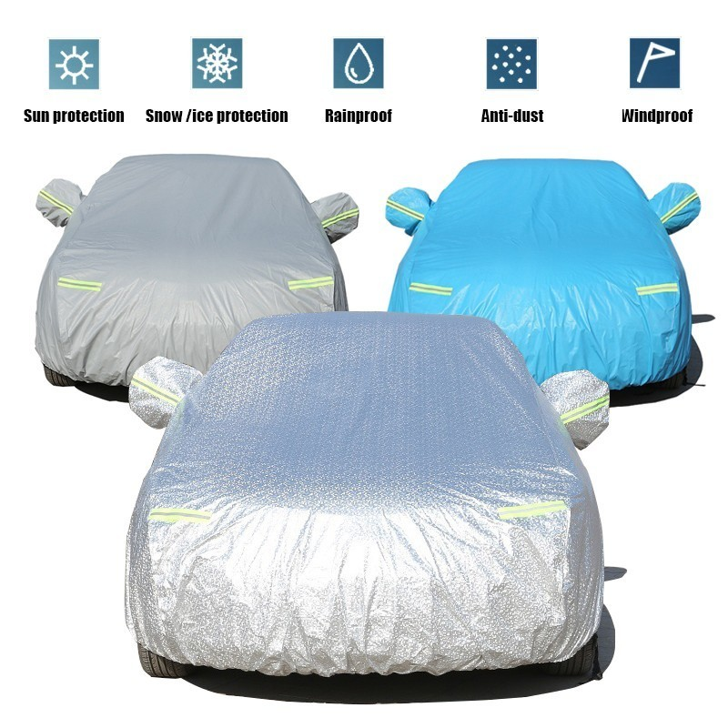 Car Cover Special For Hyundai Creta Ix25 Ix35 With Side Opening Zipper Dustproof Waterproof Sun Protection Cover Anti Theft