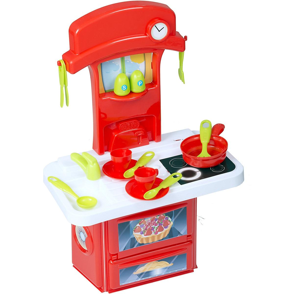 HTI Kitchen Toys10347061 Girls Vegetables Food Mini Tableware Game Play Toy Boy Girl