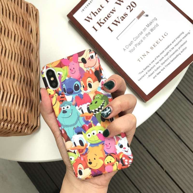 Image 2 - Cartoon big collection zoo phone case for iPhoneX XS XR XSMax 8 7 6 6S PluS all inclusive hard shell drop protection cover-in Fitted Cases from Cellphones & Telecommunications