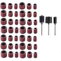 Caliente lijado tambor Kit 192 piezas tambor Sander con mango incluyendo 180 piezas uñas de lijado mangas y 12 piezas tambor mandriles F