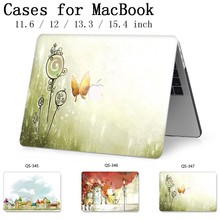 New Laptop Case For Macbook 13.3 15.6 Inch Hot For MacBook Air Pro Retina 11 12 13 15.4 With Screen Protector Keyboard Cove Gift