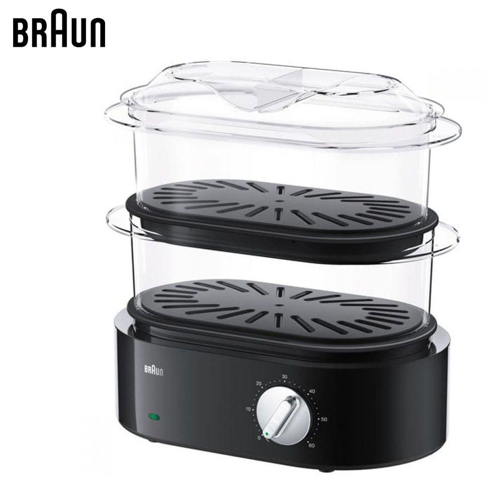Electric Food Steamers BRAUN FS5100BK Steamer Machine pan for cooking equipment цена и фото