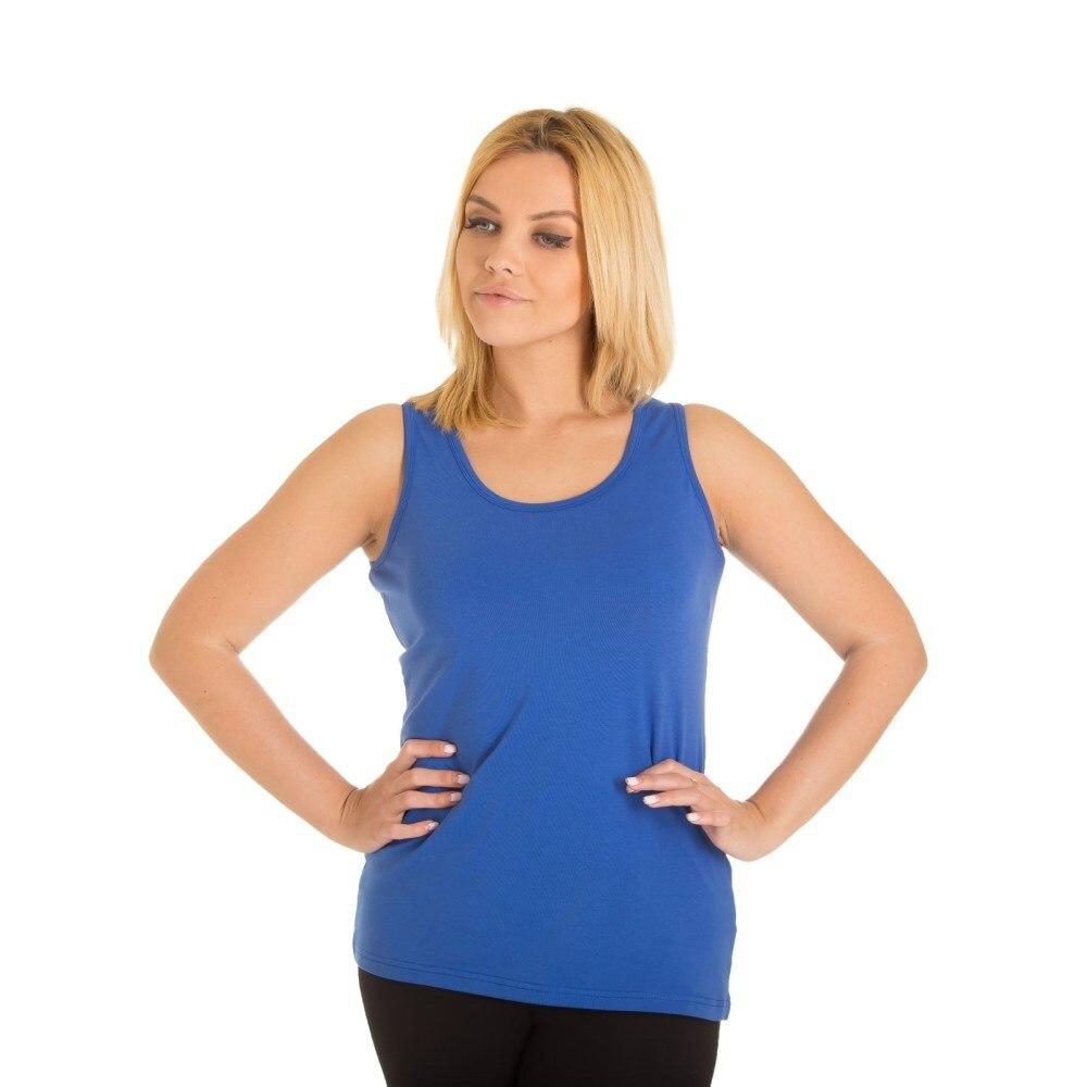 T Shirt KAFTAN basic indigo, 100% cotton