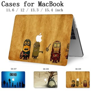 Image 1 - Hot Laptop bag Case For Macbook 13.3 15.6 Inch For MacBook Air Pro Retina 11 12 13 15.4 With Screen Protector Keyboard Cove Gift