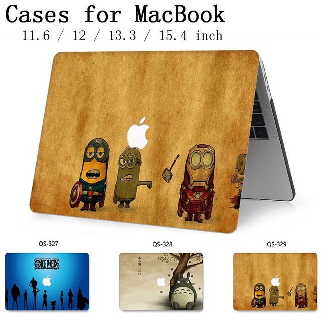 Hot Laptop bag Case For Macbook 13.3 15.6 Inch For MacBook Air Pro Retina 11 12 13 15.4 With Screen Protector Keyboard Cove Gift