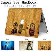 Macbook 13.3 용 핫 노트북 가방 케이스 macbook air pro retina 용 15.6 인치 11 12 13 15.4 화면 보호기 키보드 코브 선물