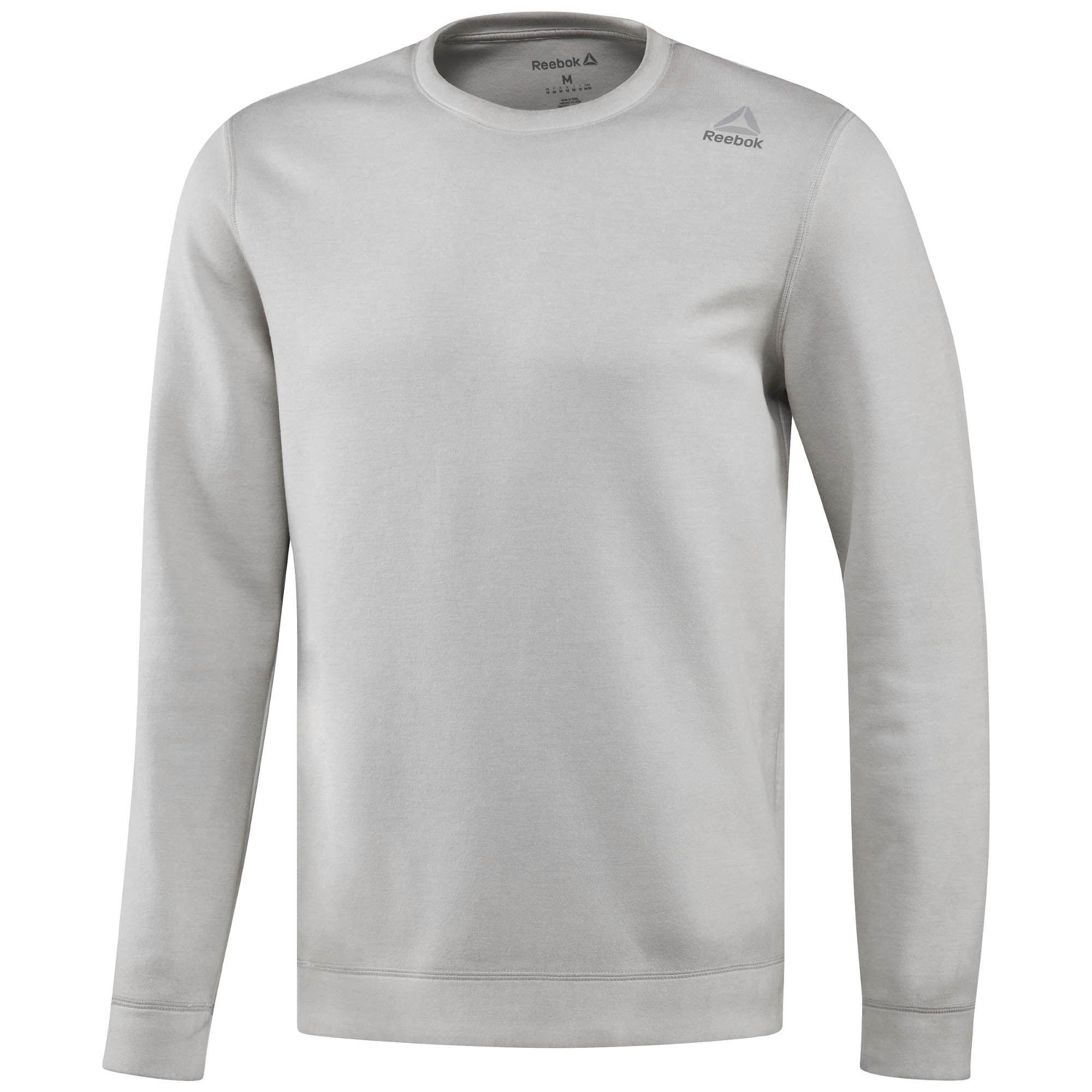Sweatshirt REEBOK BR9585 sports and entertainment for men men camo striped sweatshirt
