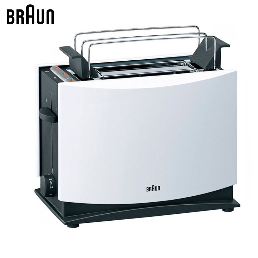 Toasters Braun MultiToast HT450WH sandwich maker bread toaster dmwd mini household electrical toaster baking bread sandwich maker grill breakfast toast machine oven 2 slices pieces 220v eu us