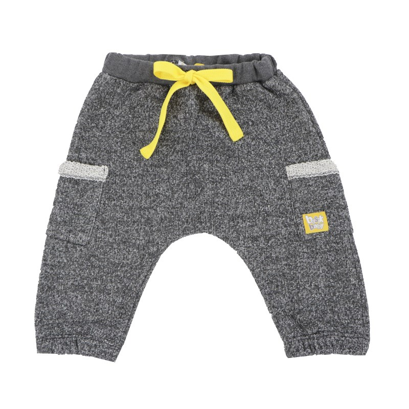 Basik Kids Pants with side pockets Anthracite kids clothes children clothing fuzzy cardigan sweater with pockets