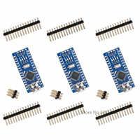 3PCS Nano Mini USB With the bootloader compatible controller for arduino CH340 USB driver 16Mhz Nano v3.0 ATMEGA328P/168P