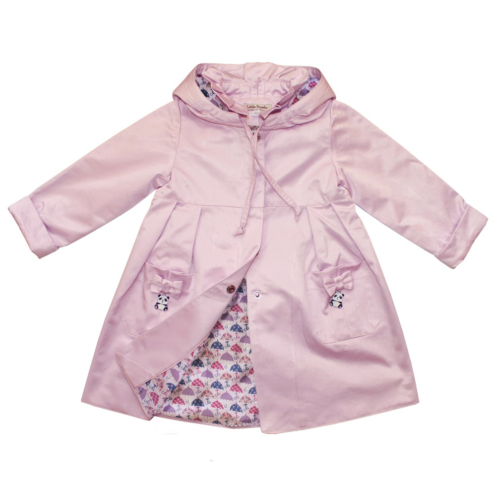 Little People 36081 Raincoat light pink M No. (110) kids clothes children clothing 18 handmade real silicone reborn girl dolls toys with pink clothes children gift bonecas brinquedos